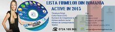 Lista firmelor din Romania o poti comanda online O baza de date care contine o lista a firmelor din Romania o sa va ajute sa va extindeti afacerea intr-un mod modern, care permite contactarea firmelor prin diferite metode. Cd-ul lista firme este un instrument de afaceri necesar in multe domenii, care faciliteaza desfasurarea departamentului de...  https://scriuceva.ro/lista-firmelor-din-romania-o-poti-comanda-online/