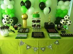 Ideias diferentes para festa de futebol