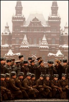USSR. Red Square, Moscow 1988