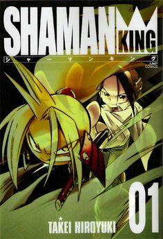 Shaman King 01 - Cover: Asakura Yoh and Amidamaru