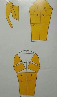 Sewing Basics, Sewing Hacks, Sewing Tutorials, Dress Sewing Patterns, Clothing Patterns, Sewing Sleeves, Pattern Draping, Sewing Blouses, Couture Sewing