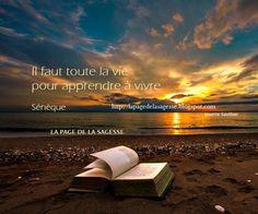 La Page de la Sagesse : Citation de Sénèque sur la vie