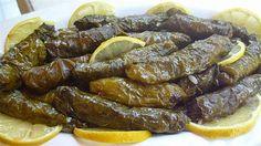 Gefüllte frische Weinblätter-Zeytinyagli taze yaprak sarmasi,meinrezeptwelt,meinerezepte,Türkische rezepte,Türkische Küche,meine Tortenwelt.meine Küche,meine Torten und Kuchenwelt,meine torten und Küchenwelt