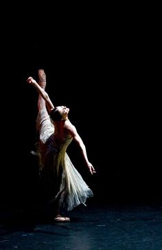 Alina Cojocaru - she was supposed to be my inspiration according to my ballet teacher.