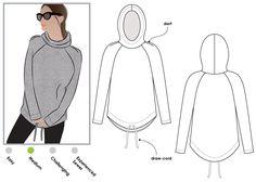 Josie Hoody Pattern | Style Arc
