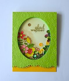 Glad We Met #card by Ren #PaperSmooches #BlossomingBuds