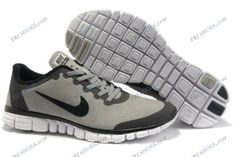 Nike Free 3.0 V2 Grey Black Mens sport running shoes nike shoes india Regular Price: