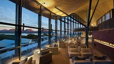 Or here, this place looks amazing. Must buy lottery tickets...  Saffire Freycinet, the luxury resort that just-opened on Tasmania's East Coast in Australia.