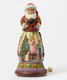 Another great find on #zulily! Santa Rotating Wind-Up Musical Figurine #zulilyfinds