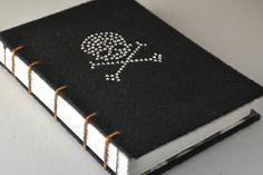 Skull and Crossbones Sketchbook