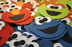 Sesame Street Party Favor Tags