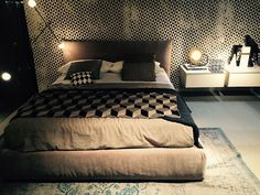 'Love all the geometric inspiration and 3D pattern in this bedroom set