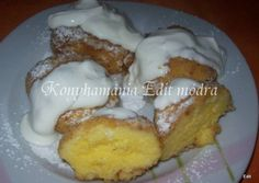 Érdekel a receptje? Hungarian Cake, Hungarian Recipes, Just Eat It, French Toast, Food And Drink, Sweets, Baking, Drinks, Breakfast