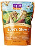 Halo Spot's Stew Natural Dry Dog Food, Puppy, Wholesome Chicken Recipe, 3-Pound Bag