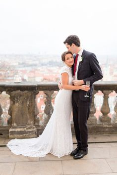 Festive Prague wedding: http://www.stylemepretty.com/destination-weddings/2015/05/20/festive-christmas-inspired-prague-wedding/ | Photography: Inspired by Love - http://www.inspiredbylove.co/