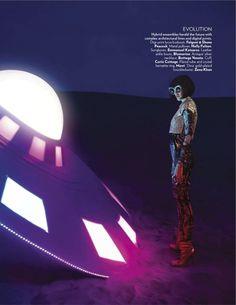 Space Odyssey Publication: Vogue India January 2013 Model: Emily Walker Photographer: Tarun Vishwa Fashion Editor: Sharon Crawford