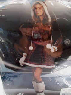 New Alexa Eskimo Kisses Adult Costume Large Dress #Alexa #Dress