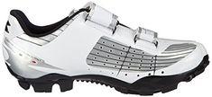 Diadora X PHANTOM, Unisex-Erwachsene Radsportschuhe – Mountainbike, Weiß (silber/weiß/schwarz 45 EU - 6 Sketchers, Unisex, Sneakers, Shoes, Self, Bicycle Helmet, Chain, Tennis, Slippers