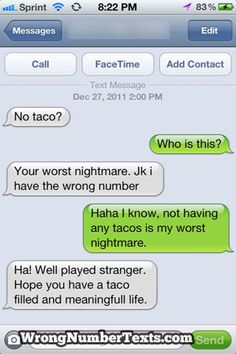love it when strangers unites over tacos!