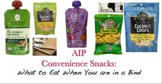 AIP Convenience Snacks: what to eat when you are in a bind