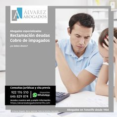 Abogados especializados en reclamación de deudas a morosos y cobro de impagados. https://alvarezabogadostenerife.com/?p=2454 #Abogados #Tenerife #Deudas #Cobrodemorosos #Impagados