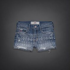 i want these! aztec print hollister short shorts! #summer