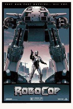 Matt Ferguson – Robocop for Grey Matter Art
