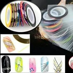 Order: bbm line ohonlineshop Nail Art Supplies, Color Mixing, Tape, Colour, Nails, Color, Finger Nails, Ongles, Duct Tape