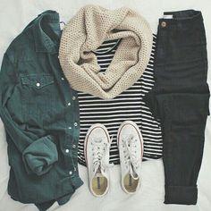 Cute Casual Winter Fashion Outfits For Teen Girl – Look Fashion, Teen Fashion, Fashion Outfits, Womens Fashion, Fashion Trends, Fall Fashion, Ladies Fashion, College Fashion, Cheap Fashion