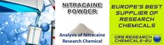 Analysis of Nitracaine Research Chemical