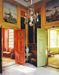Chinese Pavilion at Drottningholm Palace, Sweden. #interior #decoration