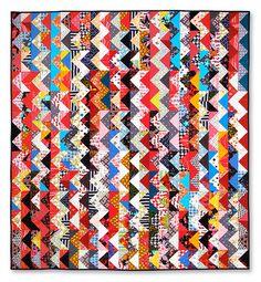 Fresh Modern Quilts #patchwork #zigzagpatchwork