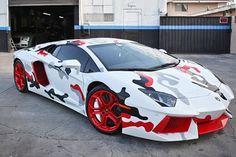 Chris Brown Paints Lamborghini to Match Nike Sneakers • Highsnobiety