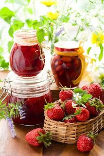 Eckert's Country Store  Farms: Aunt Juanita's Strawberry Preserves (and recipes for strawberry pie and strawberry lemonade)