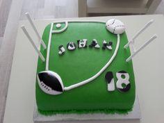 Honkbal/rugby taart