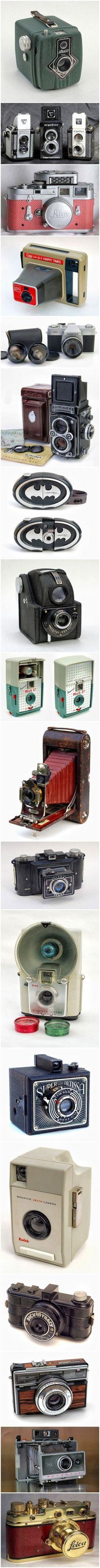 a set of cameras