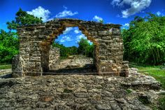 San Gervasio Mayan Ruins in Cozumel, Mexico. Not the largest of Mayan ruins but still beautiful.