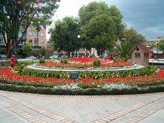 Parque de la 93, Bogotá.