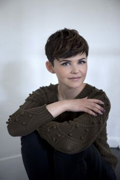 Ginnifer Goodwin. If I ever go really short again!!!