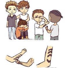 WHAT!:'( One Direction Fan Art, One Direction Cartoons, One Direction Drawings, One Direction Lockscreen, One Direction Images, One Direction Wallpaper, One Direction Quotes, Larry Stylinson, Louis Tomlinson