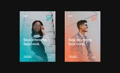 Belo Horizonte on Behance Web Design, Graphic Design Layouts, Graphic Design Posters, Graphic Design Inspiration, Corporate Design, Branding Design, Design Packaging, Stationery Design, Corporate Identity