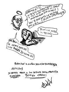 Berlusconi alla decadenza ad Arcore prega Craxi che lo sostenga