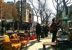 Flea market at Porte de Vanves