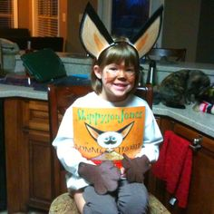 Totally doing this for Red Ribbon Week on Wednesday - Skippy Jon Jones for favorite book character day at school.
