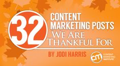 32 posts that are indispensable resources on the path to greater content marketing success