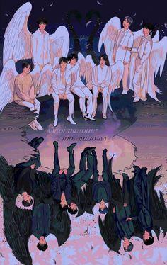 'BTS V – Singularity anime' Poster by hanavbara Bts Chibi, Foto Bts, Bts Photo, Vhope Fanart, Fanart Bts, Bts Lockscreen, Bts Taehyung, Bts Jimin, Catty Noir