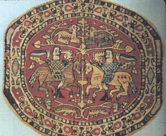 Medieval Embroidery Designs | From the land of the pharaohs ... the Coptic Museum in Cairo ...