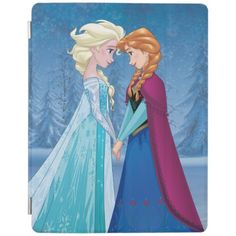 Elsa and Anna - Together Forever iPad Mini Cover Anna Disney, Disney Frozen Elsa, Cute Disney, Elsa Let It Go, Disney Princess Gifts, Ice Princess, Kristoff Frozen, Frozen Merchandise, Disney Birthday