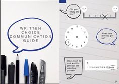 Written Choice Communication Guide NHS Tayside