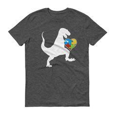 Men's Autism Au-saurus rex - Autism T-Shirt